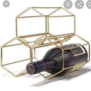 Avon Golden Stacking Wine Rack